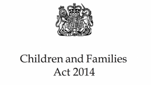Children and families act image