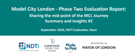 Model City London - Phase Two Evaluation Report: Invest & Demonstrate