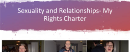 Sexuality and Relationships- My Rights Charter
