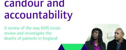 NDTi calls for greater accountability in response to the CQC's report into NHS Deaths
